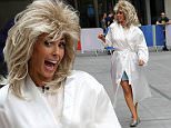 Picture Shows: Alex Jones  June 12, 2015\n \n Alex Jones is barely recognizable while presenting 'The One Show' in a blonde wig in London, England.\n \n Non Exclusive\n WORLDWIDE RIGHTS\n \n Pictures by : FameFlynet UK © 2015\n Tel : +44 (0)20 3551 5049\n Email : info@fameflynet.uk.com