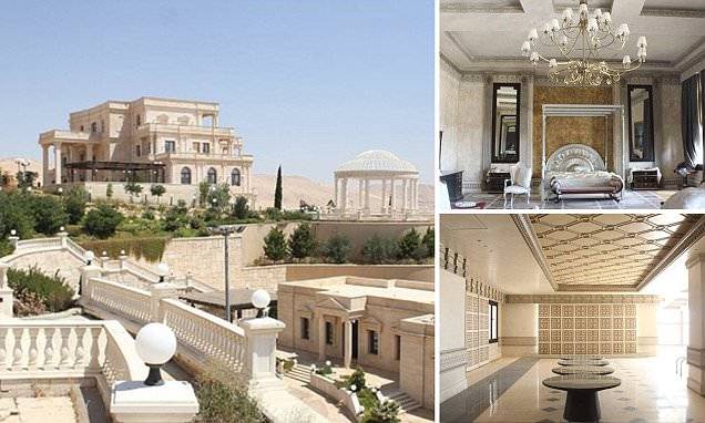 ISIS' new headquarters in Syrian mansion owned by Qatari Royal Family