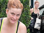 *** Fee of £150 applies for subscription clients to use images before 22.00 on 120615 ***\nEXCLUSIVE ALLROUNDERAmerican comedian actress Amy Poehler was spotted make up free arriving at a gym in West Hollywood\nFeaturing: Amy Poehler\nWhere: Los Angeles, California, United States\nWhen: 11 Jun 2015\nCredit: WENN.com