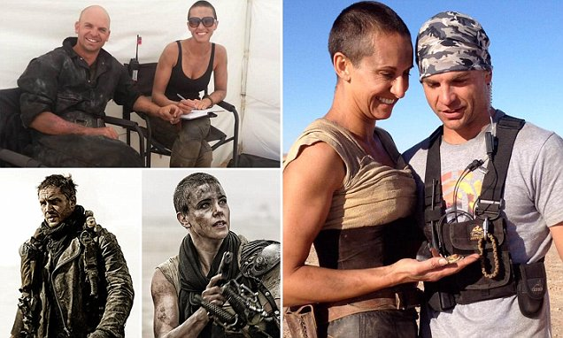 Mad Max stunt doubles for Tom Hardy and Charlize Theron are now married