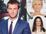 """LONDON, ENGLAND - APRIL 21:  Chris Hemsworth attends the European premiere of """"The Avengers: Age Of Ultron"""" at Westfield London on April 21, 2015 in London, England.  (Photo by David M. Benett/WireImage)"""