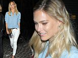 MUST BYLINE: EROTEME.CO.UK Rita Ora & Ricky Hilfiger party at Chiltern Firehouse among other celebrities. NON-EXCLUSIVE    June 10,  2015 Job: 150611L1   London, England EROTEME.CO.UK 44 207 431 1598 Ref:  341629