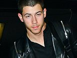 EXCLUSIVE TO INF. June 13, 2015: Nick Jonas looking sleepy as he departs from LAX At 5 in the morning, Los Angeles, CA. Mandatory Credit: INFphoto.com Ref.: infusla-309