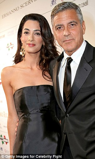 Making their debut on the Rich List: Amal and George Clooney