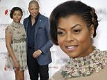 Actors Taraji P Henson, left,  and Terrence Howard pose, during the opening ceremony of the 2015 Monte Carlo Television Festival, Saturday, June 13, 2015, in Monaco. (AP Photo/Lionel Cironneau)