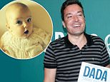 """NEW YORK, NY - JUNE 13:  Jimmy Fallon promotes his new book, """"Your Babies First Word Will Be DADA"""" at Barnes & Noble Union Square on June 13, 2015 in New York City.  (Photo by Rob Kim/Getty Images)"""