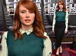 LOS ANGELES, CA - JUNE 13:  Actress Bryce Dallas Howard attends Coffee Talks: Actors during the 2015 Los Angeles Film Festival at the Courtyard Marriott at L.A. Live on June 13, 2015 in Los Angeles, California.  (Photo by Araya Diaz/WireImage)