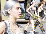 Madonna's daughter Lourdes Leon is seen walking with a friend on Sixth Avenue in New York, NY, 12 June 2015.\n13 June 2015.\nPlease byline: Vantagenews.co.uk