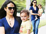 12.JUNE.2015 - LOS ANGELES - USA\n***AVAILABLE FOR UK AND GERMANY SALE ONLY ***\nWHEN IT COMES TO MOTHERING HER 18-MONTH-OLD SON JULIAN, ACTRESS JORDANA BREWSTER KNOWS JUST HOW TO KEEP HIM HAPPY, THE LITTLE BABY WAS ALL SMILES WHILE STROLLING IN BRENTWOOD!\nBYLINE MUST READ: XPOSUREPHOTOS.COM\n***UK CLIENTS - PICTURES CONTAINING CHILDREN PLEASE PIXELATE FACE PRIOR TO PUBLICATION ***\n*UK CLIENTS MUST CALL PRIOR TO TV OR ONLINE USAGE PLEASE TELEPHONE 0208 344 2007*