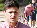 Picture Shows: Zac Efron  June 13, 2015\n \n Actors Zac Efron and Adam DeVine film a scene on the beach for their upcoming movie 'Mike and Dave Need Wedding Dates' in Oahu, Hawaii.\n \n Non Exclusive\n UK RIGHTS ONLY\n \n Pictures by : FameFlynet UK © 2015\n Tel : +44 (0)20 3551 5049\n Email : info@fameflynet.uk.com
