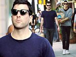 Zachary Quinto & boyfriend Miles McMillan made a grocery run at Whole Foods in Lower Manhattan. The Star Trek star was seen pushing a cart through the store and picking out his veggies before getting his goods packed in paper bags and heading home with his boyfriend.\n\nPictured: Zachary Quinto; Miles McMillan\nRef: SPL1051825  110615  \nPicture by: Sharpshooter Images / Splash \n\nSplash News and Pictures\nLos Angeles: 310-821-2666\nNew York: 212-619-2666\nLondon: 870-934-2666\nphotodesk@splashnews.com\n