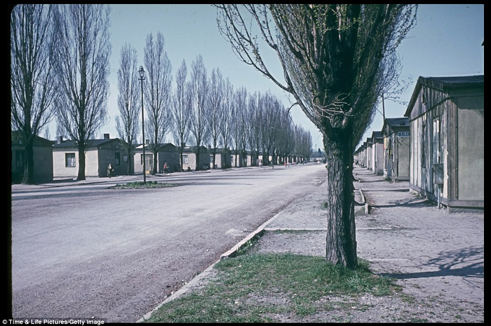 The long barracks can be stretching into the distance