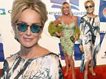 """LAS VEGAS, NV - JUNE 13:  Actress Sharon Stone attends the 19th annual Keep Memory Alive """"Power of Love Gala"""" benefit for the Cleveland Clinic Lou Ruvo Center for Brain Health honoring Andrea Bocelli and Veronica Bocelli at MGM Grand Garden Arena on June 13, 2015 in Las Vegas, Nevada.  (Photo by Ethan Miller/Getty Images for Keep Memory Alive)"""