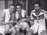 "Mezut Ozil Tweet after Germany 7 Gibraltar 0, 13/06/15  ""... in the end but still a good result ... now summer holidays"""