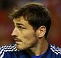 File photo dated 22-10-2014 of Real Madrid goalkeeper Iker Casillas. PRESS ASSOCIATION Photo. Issue date: Wednesday June 10, 2015. Iker Casillas is on the verge of leaving Real Madrid, according to reports in the Spanish media. See PA story SOCCER Casillas. Photo credit should read David Davies/PA Wire.