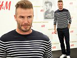 Former English football star David Beckham poses during the opening ceremony for a new H&M store in Macau, China on June 13, 2015.\n\nPictured: David Beckham\nRef: SPL1053668  130615  \nPicture by: Imaginechina / Splash News\n\nSplash News and Pictures\nLos Angeles: 310-821-2666\nNew York: 212-619-2666\nLondon: 870-934-2666\nphotodesk@splashnews.com\n