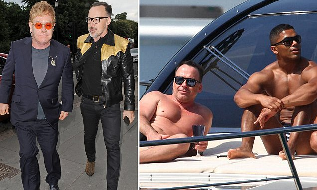 Sir Elton John's husband David Furnish 'buys home for personal trainer he met clubbing'