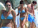 June 11th 2015 - Antibes  ****** Exclusive all around Picture with a strict minimum fee of £ 750 for the set for Newspapers only******  *** Strictly not available for Website unless fee agreed before ***  Frank Lampard enjoying the sun with his fiancee Christine Bleakley at Hotel Du Cap Eden Roc in South of France.   ****** BYLINE MUST READ : © Spread Pictures ******  ****** No Web Usage before agreement ******  ******Please hide the children\\'s faces prior to the publication******  ****** Stricly No Mobile Phone Application or Apps use without our Prior Agreement ******  Enquiries at photo@spreadpictures.com