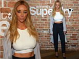 LONDON, ENGLAND - JUNE 11:  Lauren Pope arrives for The Official Idris Elba & Superdry Presentation at LCM, Superdry International Showroom on June 11, 2015 in London, England.  (Photo by Stuart C. Wilson/Getty Images)