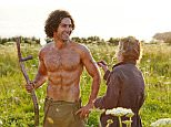 For use in UK, Ireland or Benelux countries only ..Undated BBC handout photo of Poldark star Aidan Turner getting the brush-off from a crew member in this behind-the-scenes shot from the BBC's latest costume drama. PRESS ASSOCIATION Photo. Issue date: Friday March 6, 2015. Turner plays the title character in the remake of the classic series based on Winston Graham's Cornish saga. The original version attracted audiences of 15 million when it was first broadcast by the BBC in the 1970s. See PA story SHOWBIZ Poldark. Photo credit should read: BBC/PA Wire..NOTE TO EDITORS: Not for use more than 21 days after issue. You may use this picture without charge only for the purpose of publicising or reporting on current BBC programming, personnel or other BBC output or activity within 21 days of issue. Any use after that time MUST be cleared through BBC Picture Publicity. Please credit the image to the BBC and any named photographer or independent programme maker, as described in the caption.
