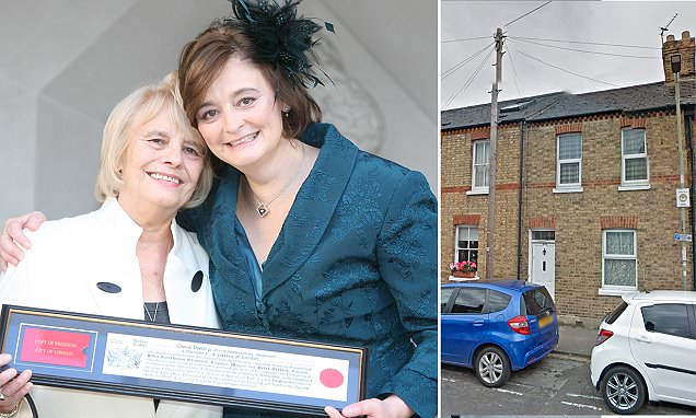 Cherie Blair calls police to hunt for mother's lodger after '£80k vanishes'