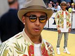 Lewis Hamilton attending the world premiere of Minions at the Odeon Leicester Square, London. PRESS ASSOCIATION Photo. Picture date: Thursday June 11, 2015. Photo credit should read: Daniel Leal-Olivas/PA Wire