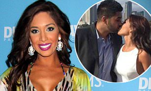 Teen Mom OG star Farrah Abraham confirms split from boyfriend...  by wishing him a 'Happy