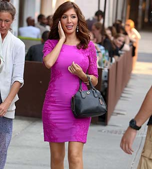 Ladies that lunch: Farrah Abraham and friends arriving at the Cafeteria in Chelsea, New York