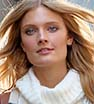 Model behaviour: Constance Jablonski shoots scenes in NYC