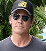 So hip: Josh Brolin shows off his new rock band T-shirt