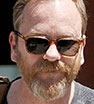 Hair he goes! A bearded Kiefer Sutherland steps out in New York