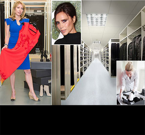 So many frocks, so little space? Fret not! Store them like Posh in a climacool unit