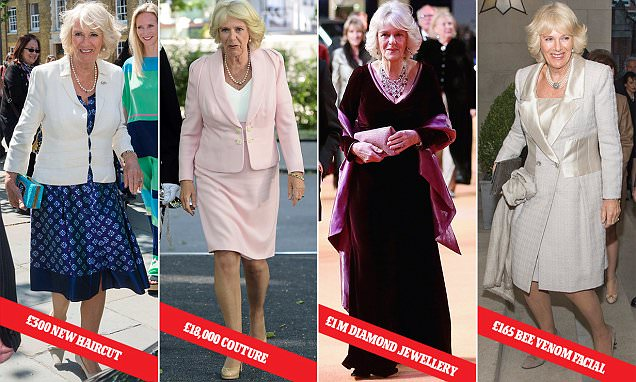 Duchess of Cornwall Camilla gets a VERY expensive makeover at Jo Hansford salon