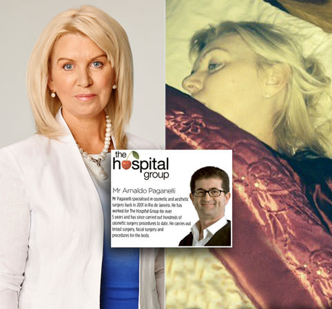 The woman who can NEVER close her eyes after 'botched' operation