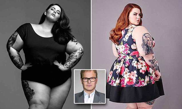 Steve Miller slams size 26 model Tess Holliday for 'normalising obesity'