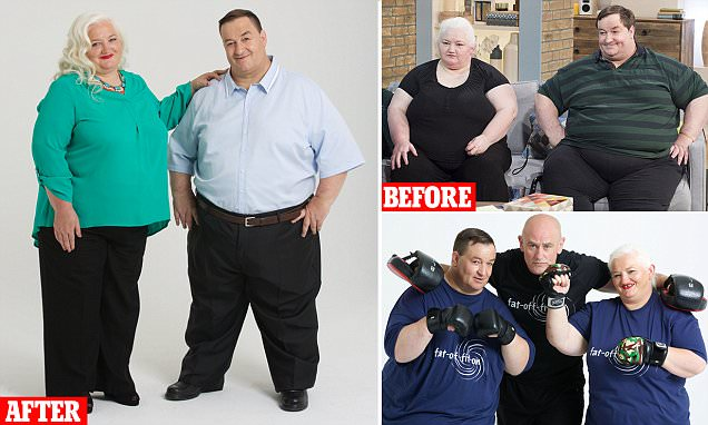 Steve Beer and wife, who were too fat to work, lose 13 STONE