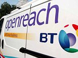 OPENREACH CHIEF EXECUTIVE STEVE ROBERTSON, LAUNCHES THE NEW LOGO, AT THE BT HQ IN ST PAULS LONDON.