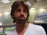 "Pic shows: Juventus goalkeeper Marco Storari in the airport. A flight carrying Juventus goalkeeper Marco Storari was forced to make an emergency landing after one of its tyres burst during take off from Turin airport. The Blue Air Boeing 737 from Turinís Caselle airport in northern Italy to Catania on the east coast of Sicily was taking off when one of the rear left wheels exploded. The jet carrying 154 passengers and six crew was forced to circle above Turin for 40 minutes dumping fuel and then being allowed to land. Storari, whose team lost to Barcelona in the final of the Champions League in Berlin on Saturday told local newspaper La Repubblica: ""We heard a loud noise and were scared, also because at the beginning we didnít know what was happening. ""We became suspicious when the plane continued to fly over Turin."" The 38-year-old goalie added: ""The crew was very efficient and in the end there was no problem."" Another passenger, Maddelena Lamed, 54, told the paper: ""For a few minute"