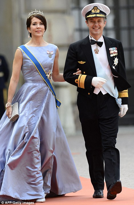 Crown Princess Mary of Denmark and Crown Prince Frederik of Denmark