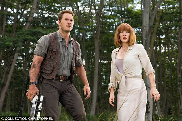 Success: The 35-year-old actor confirmed that he will indeed be reprising his role alongside Bryce Dallas Howard (pictured) should the studio decide to make a sequel, which seems likely given its blockbuster opening weekend