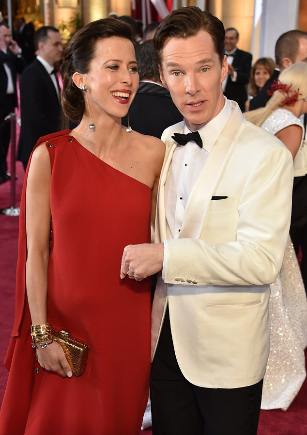 Traditional:The star chose to announce his betrothal to Sophie with a £324 advertisement in The Times newspaper. Benedict is believed to have flown to Edinburgh to ask her mother's permission for her daughter's hand in marriage before getting down on one knee