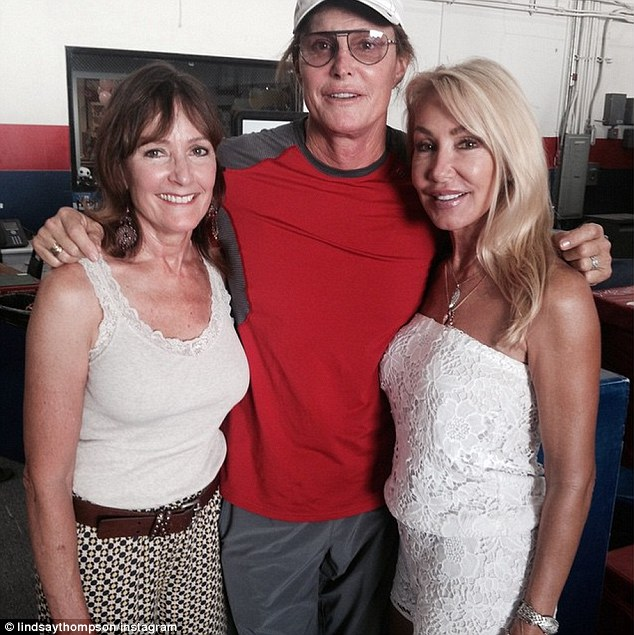 Contrast: This was partly due to Caitlyn's ex-wife #1 Chrystie Scott (L) and ex-wife #2 Linda Thompson (R) both offering supportive statements