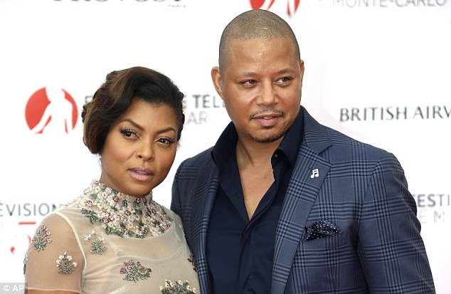 Leading lady: Taraji was recently honored by the Critics Choice Award for best actress in a drama series for her role as Cookie on Empire