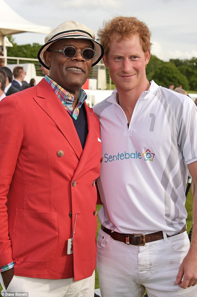 After being buttonholed by Samuel, pictured with Prince Harry (above), over drinks at a recent polo match, the Royal brothers promised to promote his charity One For The Boys