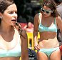 """EXCLUSIVE ALL ROUNDER Celebs on set film """"Me Before You"""" in Formentor beach Palma de Mallorca Airpot, Mallorca. 10 June 2015. \n11 June 2015.\nPlease byline: G Tres/Vantagenews.co.uk"""