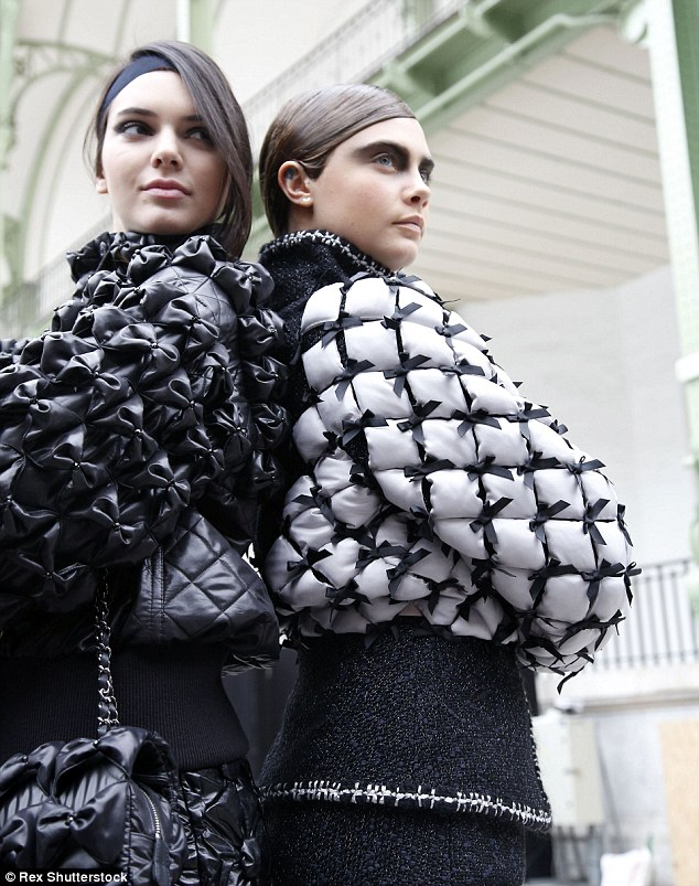Model pals: The supermodel duo have taken part in various fashion shoots, including theAutumn Winter 2015 collection for Chanel
