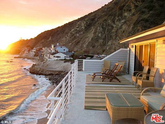 Hideaway: On Saturday TMZ reported that Lana Del Rey purchased a $3m beachfront property in Malibu because her current home is too accessible to fans
