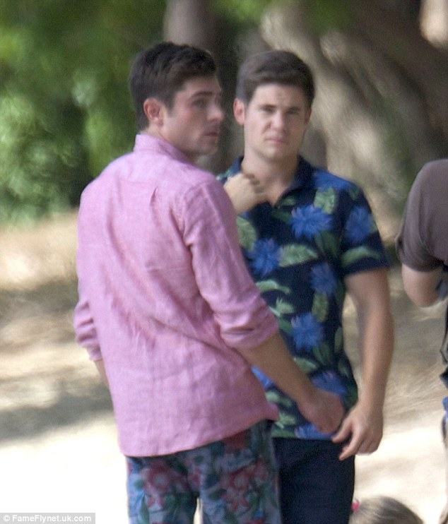 Brothers: Efron and Adam DeVine play brothers in the film who are in search of dates for a wedding