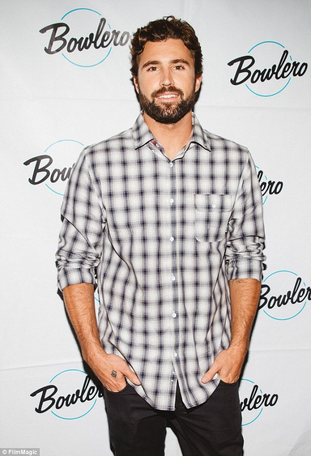 TMI alert:Brody Jenner - pictured above in April this year - has revealed he and girlfriend Kaitlynn enjoy threesomes after discussing his new 'sex talk show' on E! in GQ