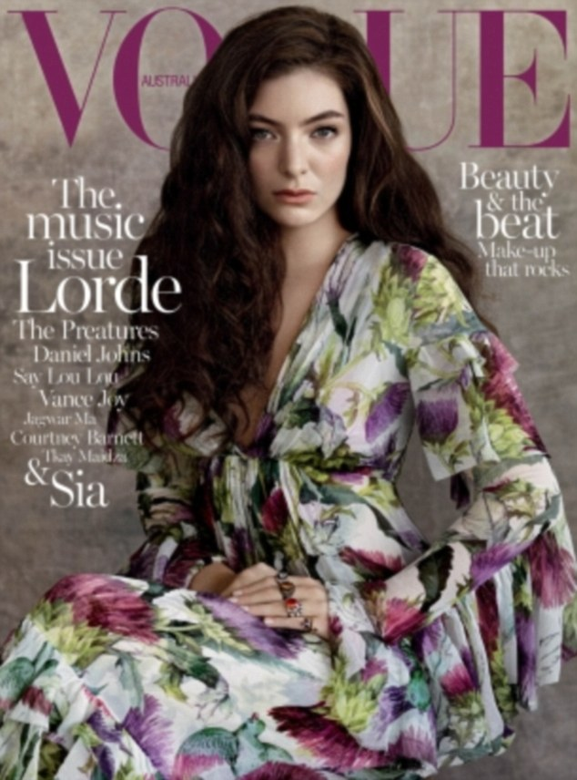 Royally lovely:The Kiwi native this week added another string to her bow posing for her first cover of Vogue Australia